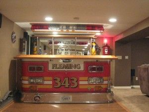 I definately need this is my basement. My husband would think he's died and gone to heaven... I love being a firefighters wife.