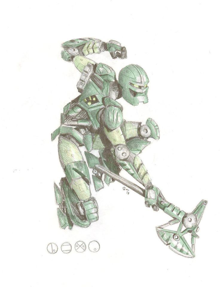 Cunning Lewa (colored) by EricGroff on deviantART (pinner note: BIONICLE REBOOT DO WANT.)