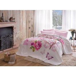 Tac Felicity roz - patura 220x240 cm