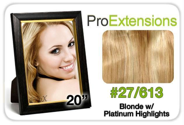 Pro Lace 20″, #27-613 Blonde w-Platinum Highlights