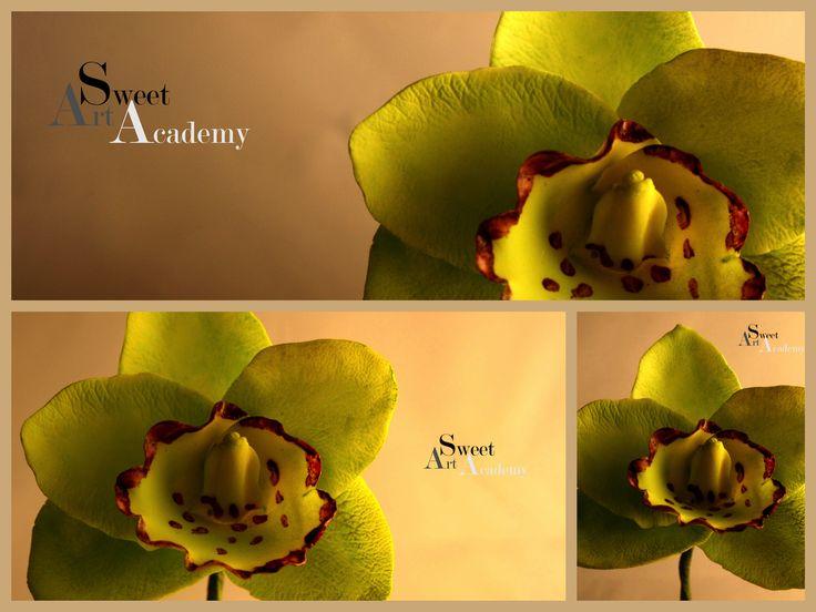 Skab orkideer på kurser hos Sweet Art Academy #sweetartacademy