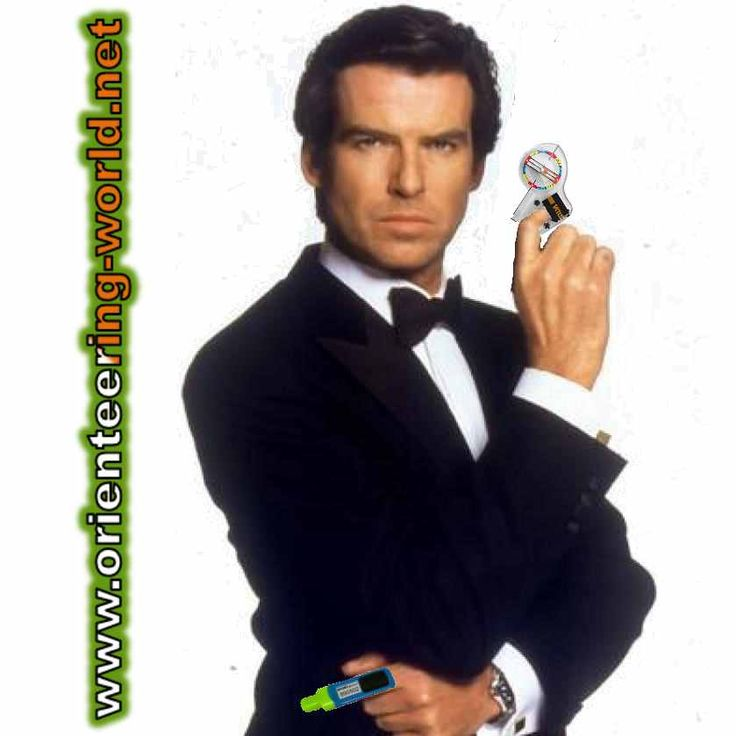 My name is Bond. James orienteer Bond.