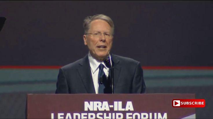 AMAZING: Wayne LaPierre FANTASTIC SPEECH at the National Rifle Associati...
