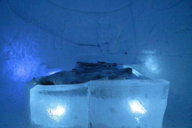 Snow Bed #Jeris #ScanAdventures