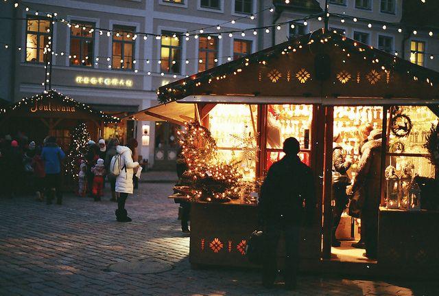 "eeriewinterchills: ""Christmas in Tallin by octopfurry on Flickr. """
