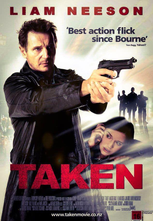 فيلم Taken 2008 مترجم Filmes De Accao Capas De Filmes Posters De Filmes