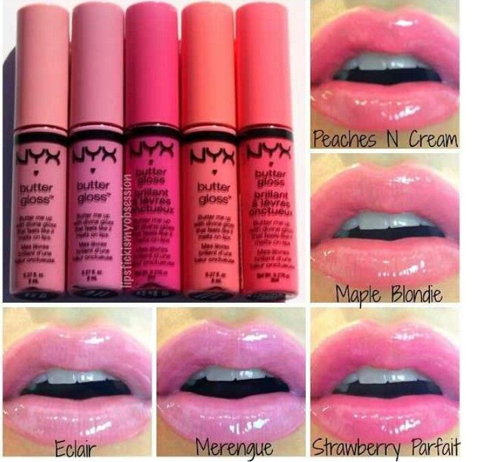 NYX Butter Gloss, I love these! Just bought Maple Blondie :)