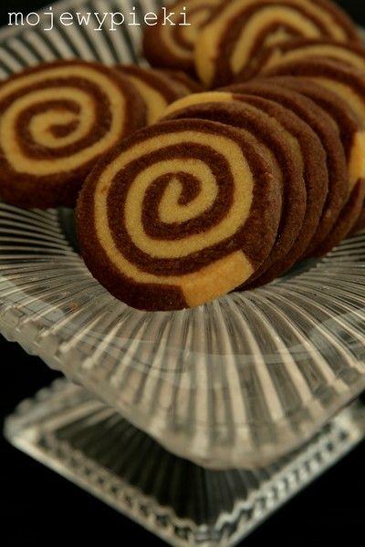 Spiralki czekoladowo - waniliowe (nast. razem bez nutelli)
