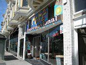 Café International on Haight/Fillmore, San Francisco.