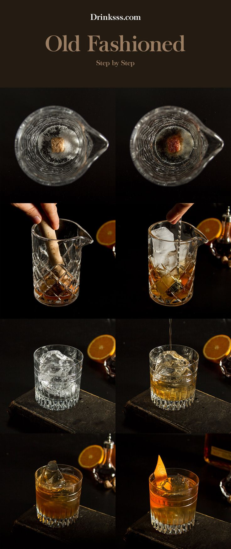 #oldfashioned #cocktail #recipe #DIY #Bourbon #whisky