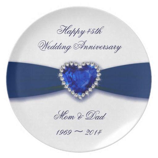 45 Wedding Anniversary Gift Ideas: 45th Wedding Anniversary