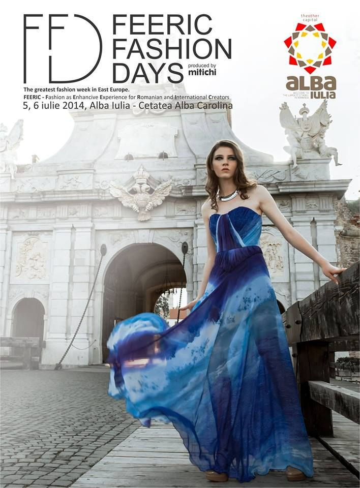 Feeric Fashion Days la Alba Iulia, 5-6 iulie 2014