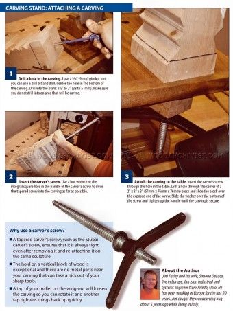 how to build a duck from carved wood pieces