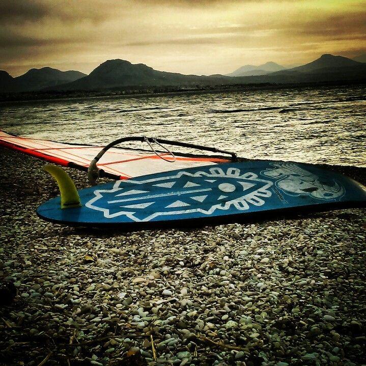 Great windsurf session at Loutraki!!!