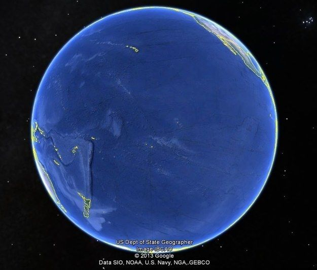 Speaking of water, this is how big the Pacific Ocean actually is:   26 Pictures That Will Give You Perspective On What Really Matters