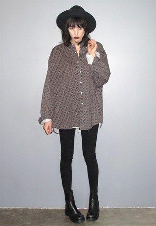 Paisley & Polka Dot Oxford Shirt