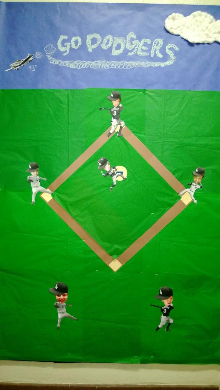 Our Baseball Themed Bulletin Board Crafts Pinterest