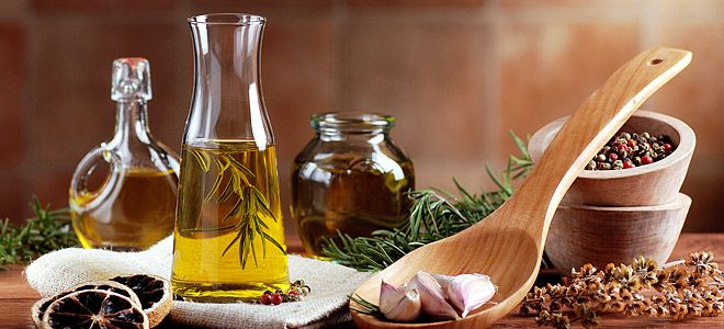 Olive oil & herbs