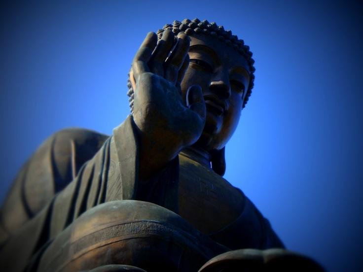 Buddha - Lantau Island, Hong Kong, By Kate Bergmann