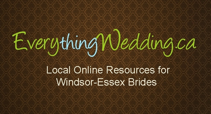 Connect with us! www.everythingwedding.ca    Friend us on Facebook!  http://www.facebook.com/EverythingWedding    Follow us on Twitter!  https://twitter.com/#!/everythingwed
