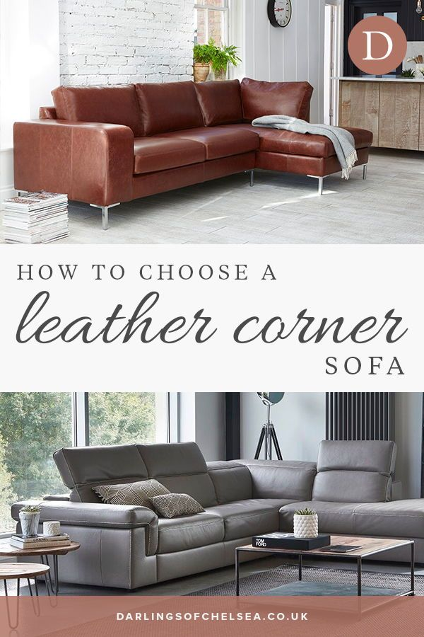 How To Choose A Leather Corner Sofa