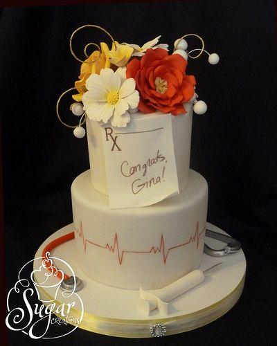 PSU nursing graduation cake