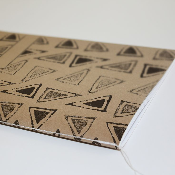 A5 African Pattern Notebook. Made from 100% recycled paper.