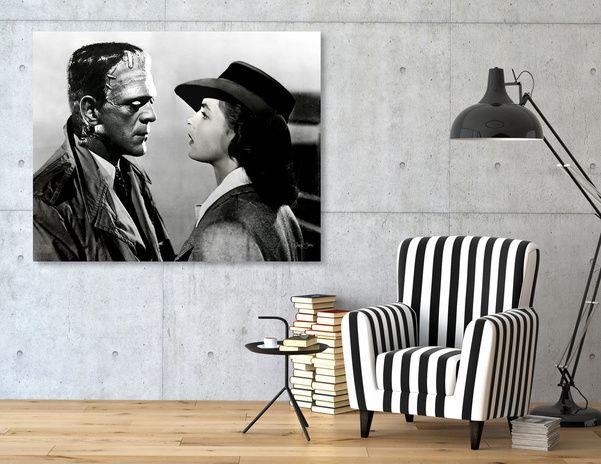 Discover «Frankenstein in Casablanca», Exclusive Edition Canvas Print by Luigi Tarini - From $49 - Curioos
