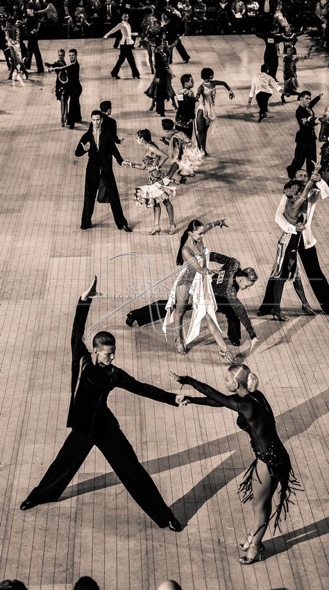 Win Top Overall at a large ballroom competition