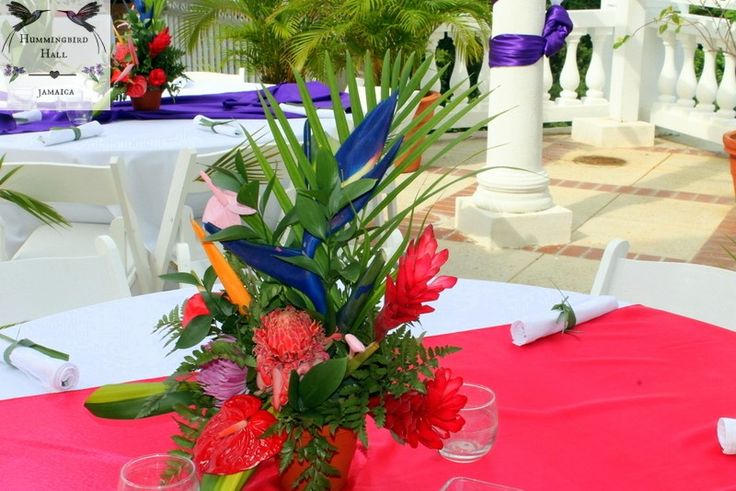 Best jamaican themed party images on pinterest floral
