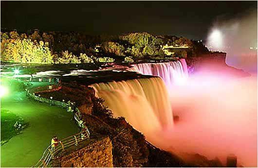 Niagara Falls at Night - LED Central!
