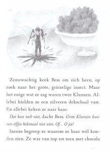 Bruiloft met vleugels The Never Girls Deel 5 bruiloft bruidsmeisje bloemenmeisje Disney avontuur magie gast blaadjes bruidssluier chocoladefontein taart recensie review Van Holkema & Warendorf kiki Thorpe