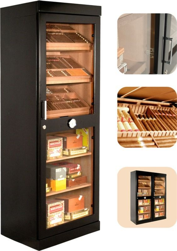 Humidor Cabinet adorini Roma (black) electronic humidor cabinet   Free Shipping   11 Reviews