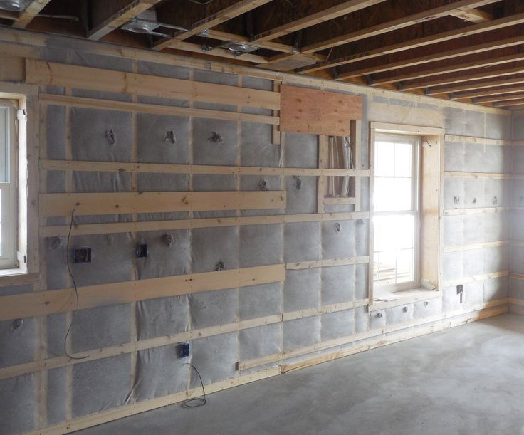 The Double Stud Walls Were Insulated With Dense Packed