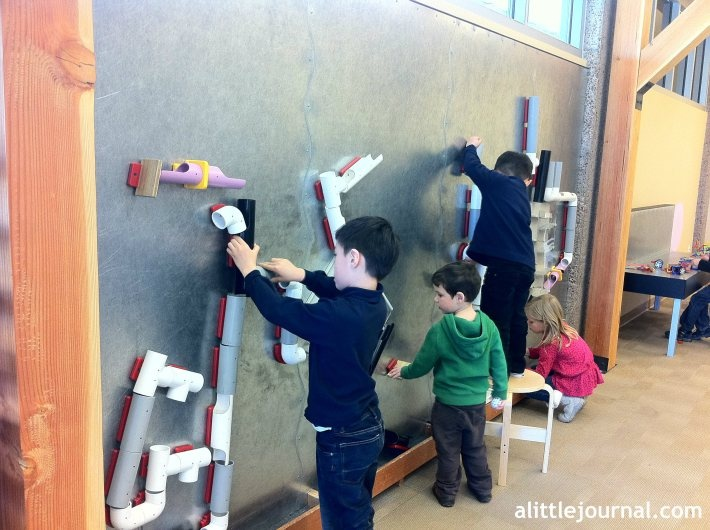 Image result for children's museum magnet ball tracks