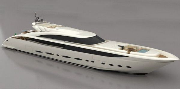 AB 166 Superyacht, AB Yachts Price: Approx. $41.8 million