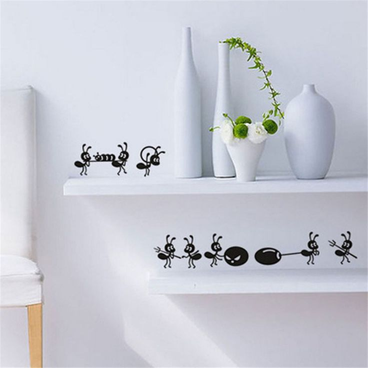 Cartoon Ants 54x6cm Wall Sticker   Free Worldwide Shipping!  Only $3.01    Order from: www.happycozyhome.com