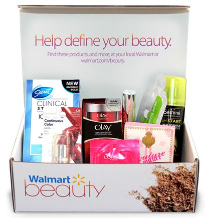 FREE Walmart Beauty Box! Just Pay Shipping.