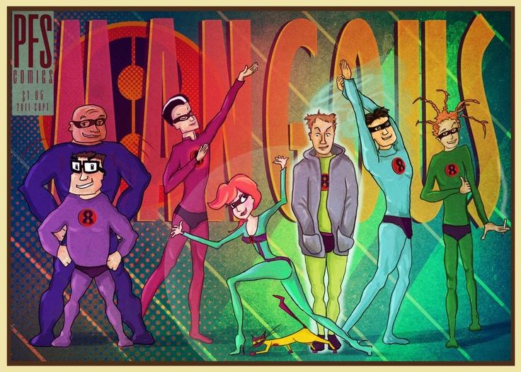 Mangous - my own comic cover