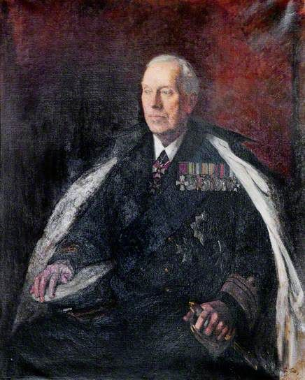 William Leveson Gower (1880–1953), 4th Earl Granville, Governor of Northern Ireland (1946–1952), Commissioner (1953) by Arthur Ralph Middleton Todd