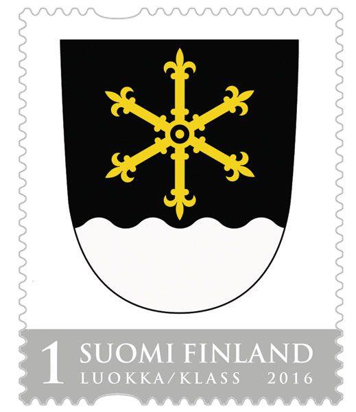 Kouvolan vaakuna, Suomi Finland 2016
