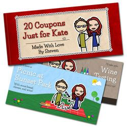 custom romantic coupon books build your character and