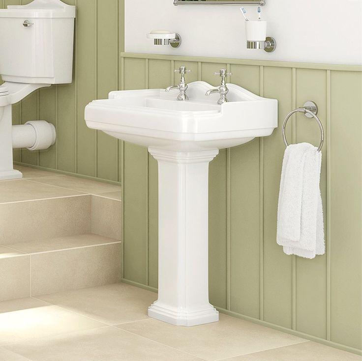 Victoriana Full Pedestal Basin