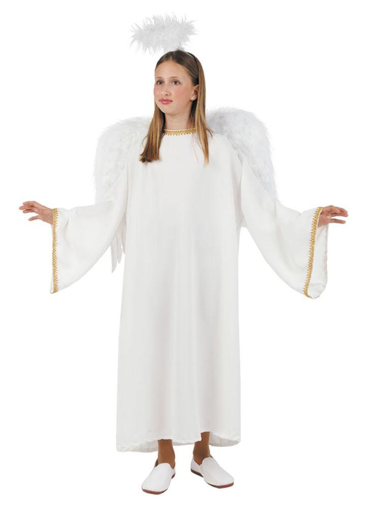 Disfraz de ngel para representaciones escolares de for Disfraces de angeles