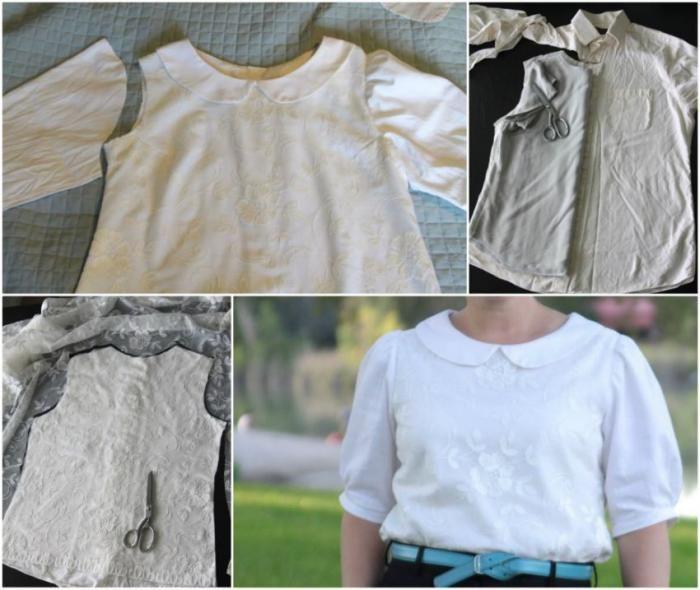 Что можно сделать из старой одежды (34 фото)