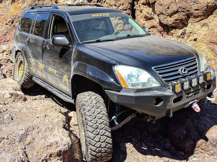 Picture Gallery Lexus GX470 Off Road Project from SEMA