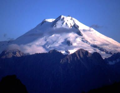 Mount Elbrus is the tallest mountain in Europe. It is located in the European part of Russia. Its Elevation is 5,642 meters. Themountain is right on the border of Europe and Russia but most geographers consider it to be the tallest mountain in Europe.