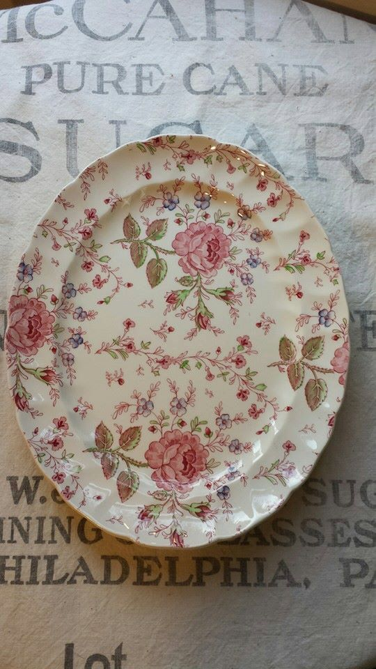 Johnson Brothers Rose Chintz 11 inch Serving by ElisabethMacBeth & 46 best Rose Chintz (Johnson Brothers) images on Pinterest   Johnson ...