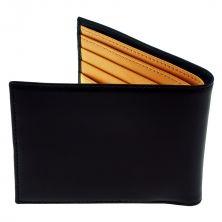 Ettinger Bridle Hide Billfold Leather Wallet, Black