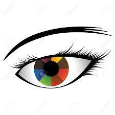 cartoon eyes with iris - Google Search